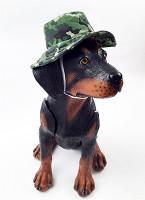 Camo Dog Bucket Style Hat - Green