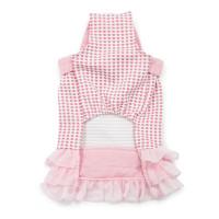 Pink Halter Woven Dog Dress
