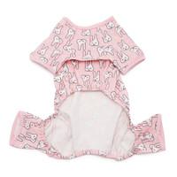 Pink Bunny Dog Pajamas