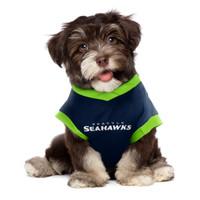 NFL Performance Pet Dog Tee - Seattle Seahawks