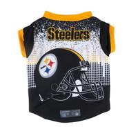 NFL Performance Pet Dog Tee - Pittsburgh Steelers