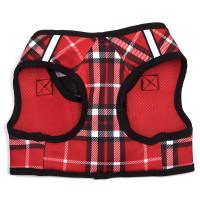 Worthy Dog Step-in Sidekick Dog Harness - Red Plaid