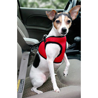 Worthy Dog Step-in Sidekick Dog Harness - Red Houndstooth