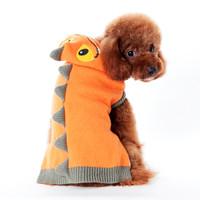Dragon Orange Dog Sweater