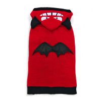 Little Devil Red Dog Sweater