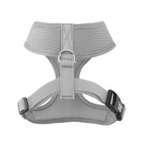 Mesh Dog Harness Vests - Silver Grey Ultra Comfort