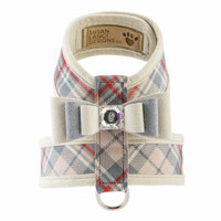 Scotty Doe Plaid Big Bow Tinkie Harnesses by Susan Lanci