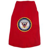 US Navy Logo Dog Tees