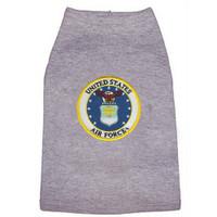 US Air Force Emblem Dog Tees