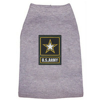 US Army Star Patch Dog Tees