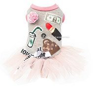 Designer Carrie Bradshaw Pink Tutu Dog Dress