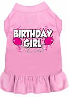 Birthday Girl Balloons Dog Dress - More Colors