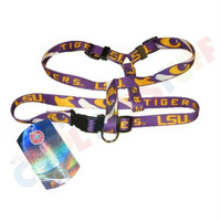 LSU Tigers Pet Harness