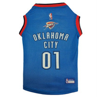 Oklahoma City Thunder Pet Jersey - XL