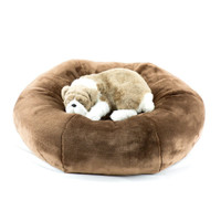 Butternut Brown Spa Dog Bed