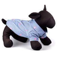 Wilbur Pig Chambray Pet Dog Shirt - Small - Big Dog