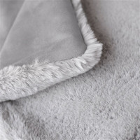 Divine Pet Dog Blanket or Throw - Dove Grey