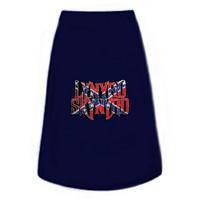 The Band Lynyrd Skynyrd Flag Logo Dog Tee