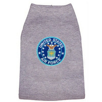 US Air Force Patch Dog Tees