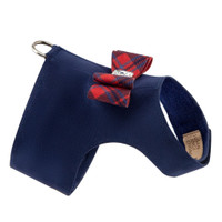 Scotty Bailey Dog Harness Chestnut Plaid - Big Bow