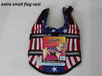 American Flag Pet Life Jacket Vest