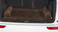 Cross Country SUV Bolster Dog Bed - Hickory Microvelvet
