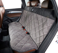Cross Country Back Seat Cover - Ash / Rodeo Microvelvet