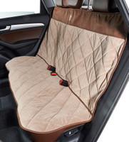 Cross Country Back Seat Cover - Pebble / Cowboy Microvelvet