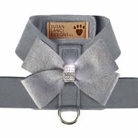 Platinum Tinkie Harness with Platinum Glitzerati Nouveau Bow - Choose Color
