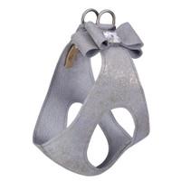 Platinum Glitzerati Big Bow Dog Step in Harness