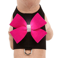 Black Harness - Wine & Roses Bow