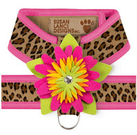 Cheetah / Pink Sapphire Trim
