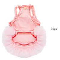 Puppy Angel Royal Ballet Dog Tutu Dress - Pink