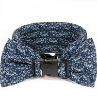 Too Cool Cooling Dog Collars - Blue Bandana