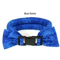 Too Cool Cooling Dog Collars -Blue Swirls