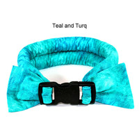 Too Cool Cooling Dog Collars - Teal & Turquoise