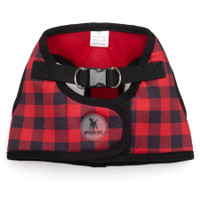 Worthy Dog Step-in Sidekick Dog Harness - Buffalo Plaid