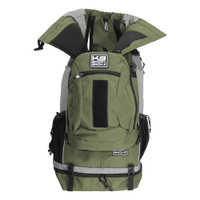Rover Pet Backpack Carrier - Green - Pets 30 - 80lbs