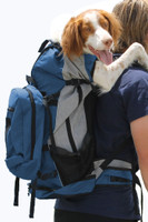 Rover Pet Backpack Carrier - Blue - Pets 30 - 80lbs