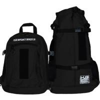 K9 Sport Sack Plus 2-Jet Black - Pets Up to 40 lbs