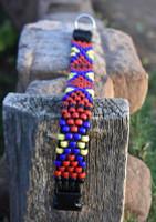 Beaded Malkia Dog Collar