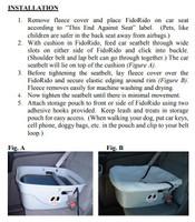 FidoRido Pet Car Seat