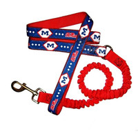 Ole Miss Rebels Bungee Ribbon Pet Leash