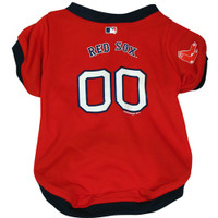 Boston Red Sox Dog Jersey - HRSX4254-0004