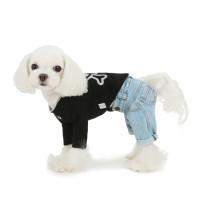 Puppy Angel Geolgine HQ Washed Denim Pants - Lt Blue