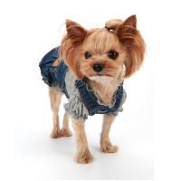 Puppy Angel Ohkio Denim Suspenders cancan skirt - Blue