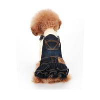 Puppy Angel Ohkio Denim Suspenders cancan skirt - Navy Blue