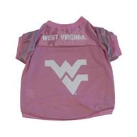 West Virginia Mountaineers Collegiate Pink Pet Jersey