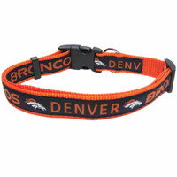 Denver Broncos Pet Collar