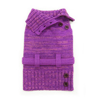 Purple Multiway Dog Sweater